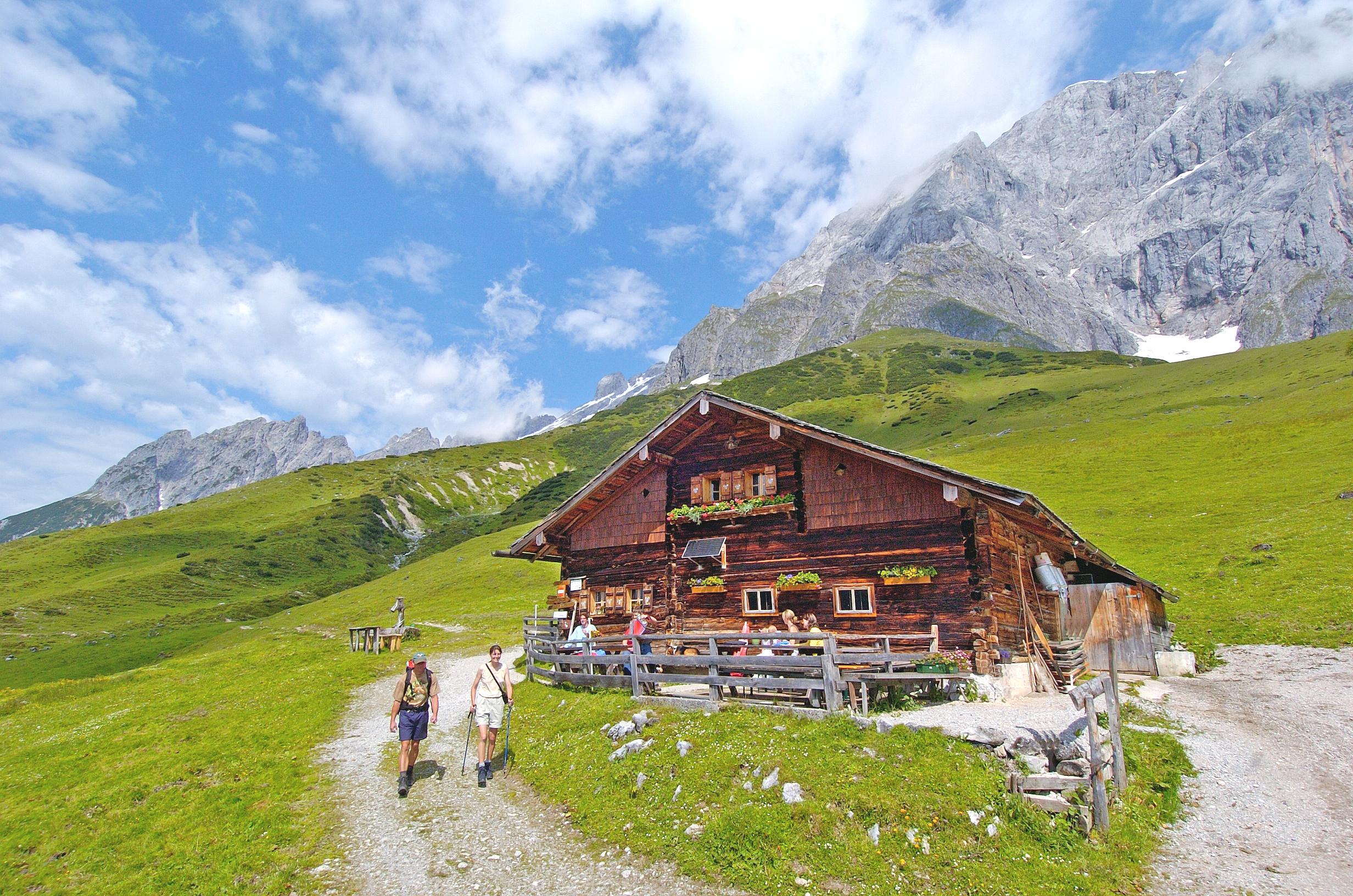 Hochkoenig Brandstaedthütte