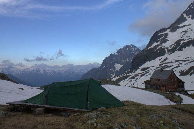 Aussicht von der Hütte, © Adolf-Nossberger-Hütte
