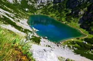 Der romantische Hölltalsee- ca 1,5 Std. von der Hütte entfernt