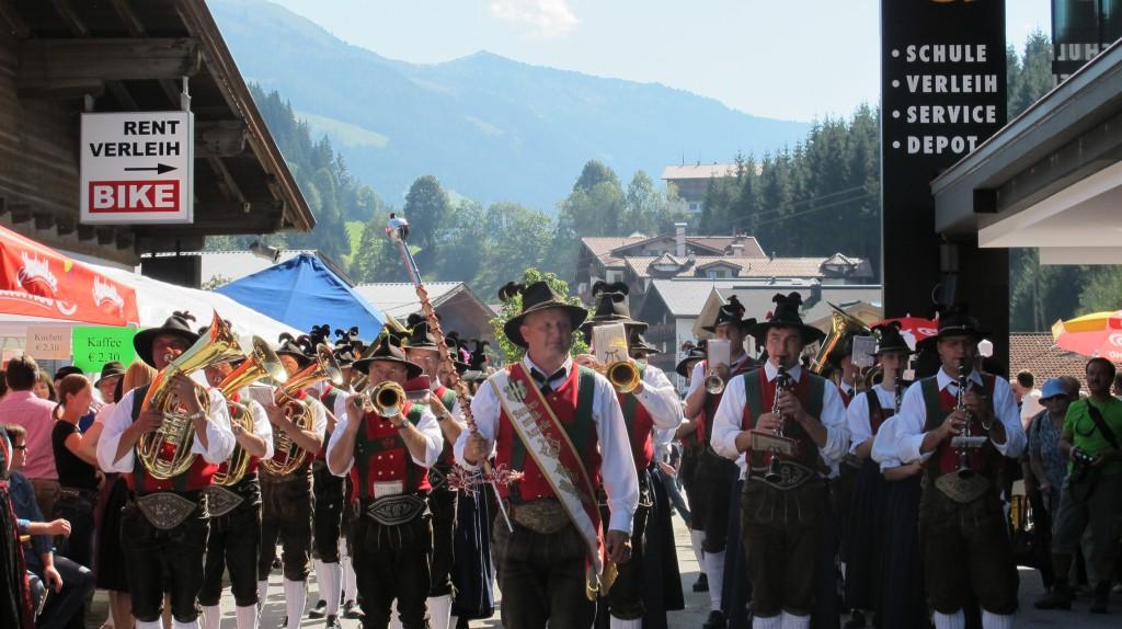 Almabtrieb Wildschönau Musikkapelle