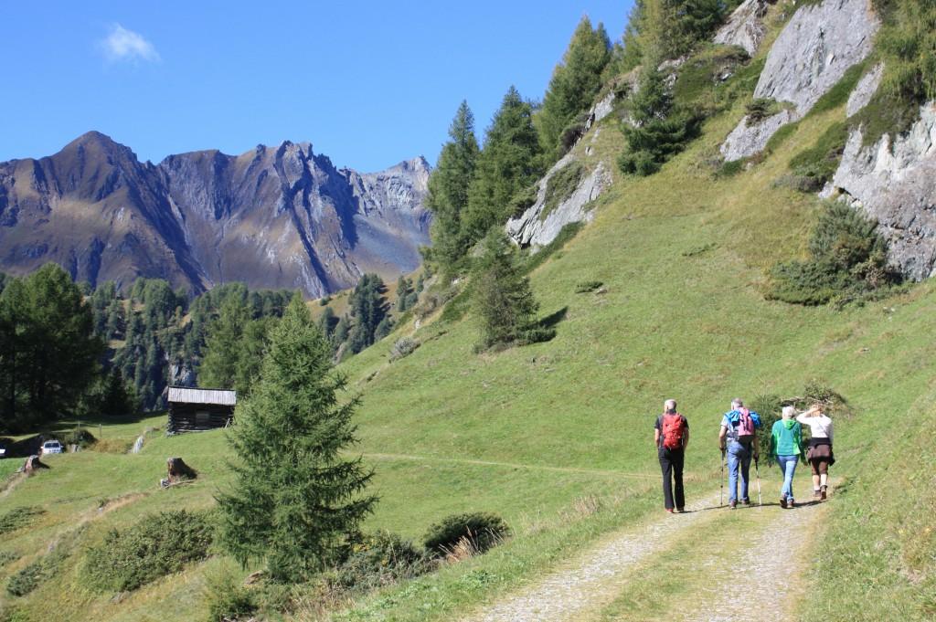 Wanderung zur Stabanthütte