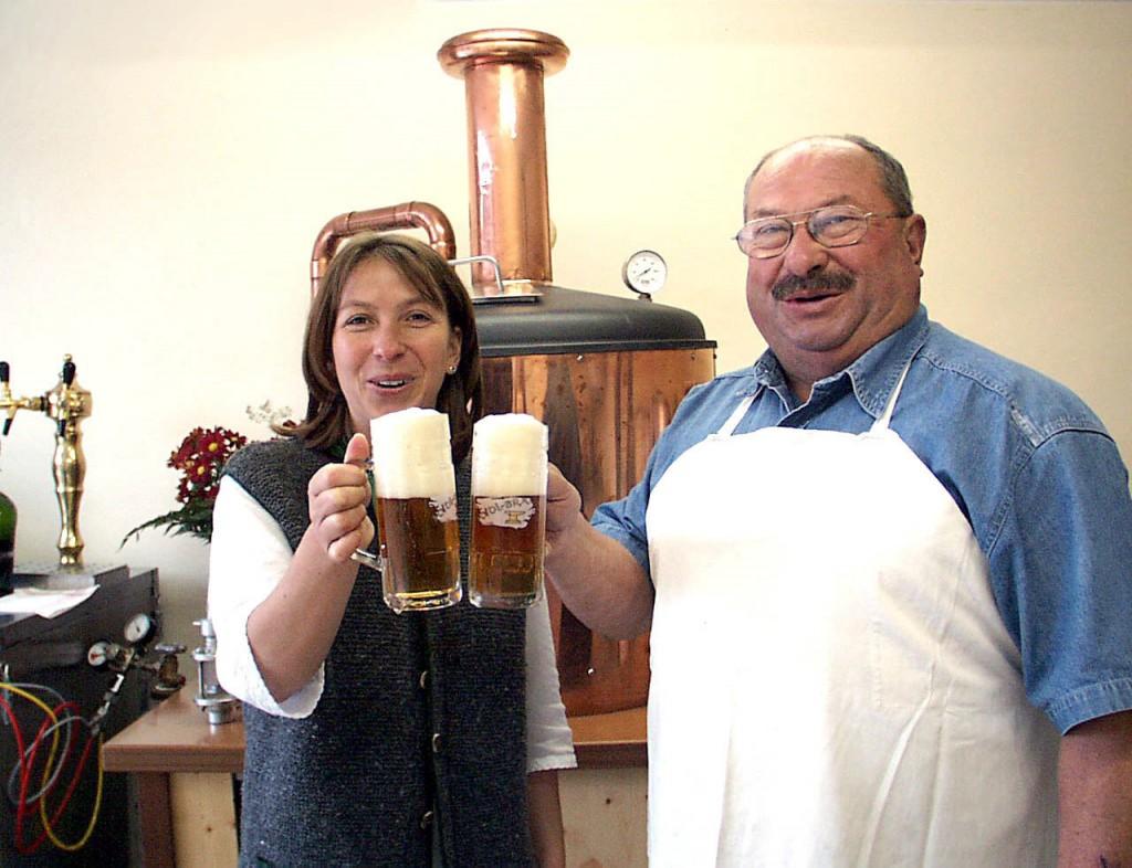 Jauntaler Bauernbier, Lotte und Erich Sorger