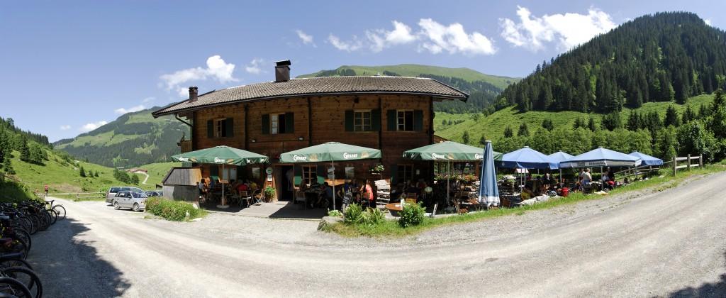 Gamskogelhütte Panorama