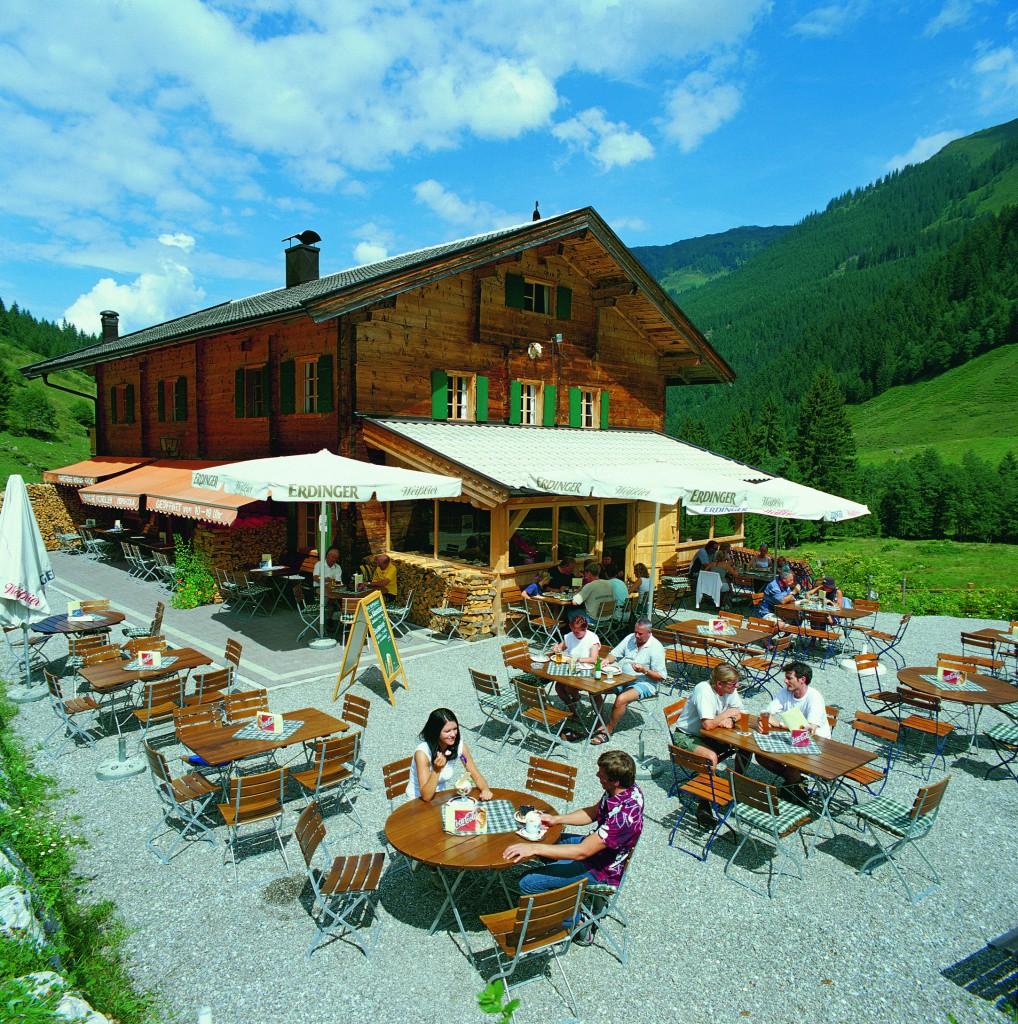 Gamskogelhütte Terrasse