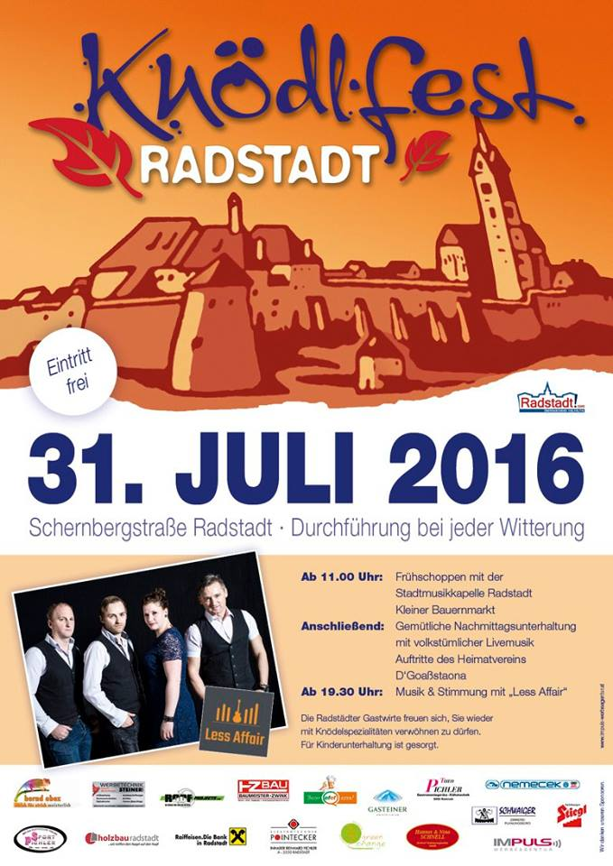 Knödlfest Radstadt