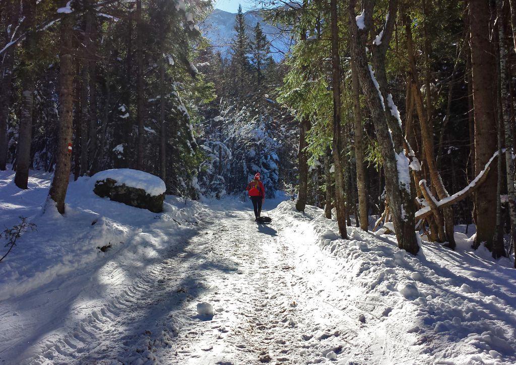 Auf dem Weg zur Klagenfurter Hütte, © Österreichs Wanderdörfer, Elisabeth Pfeifhofer