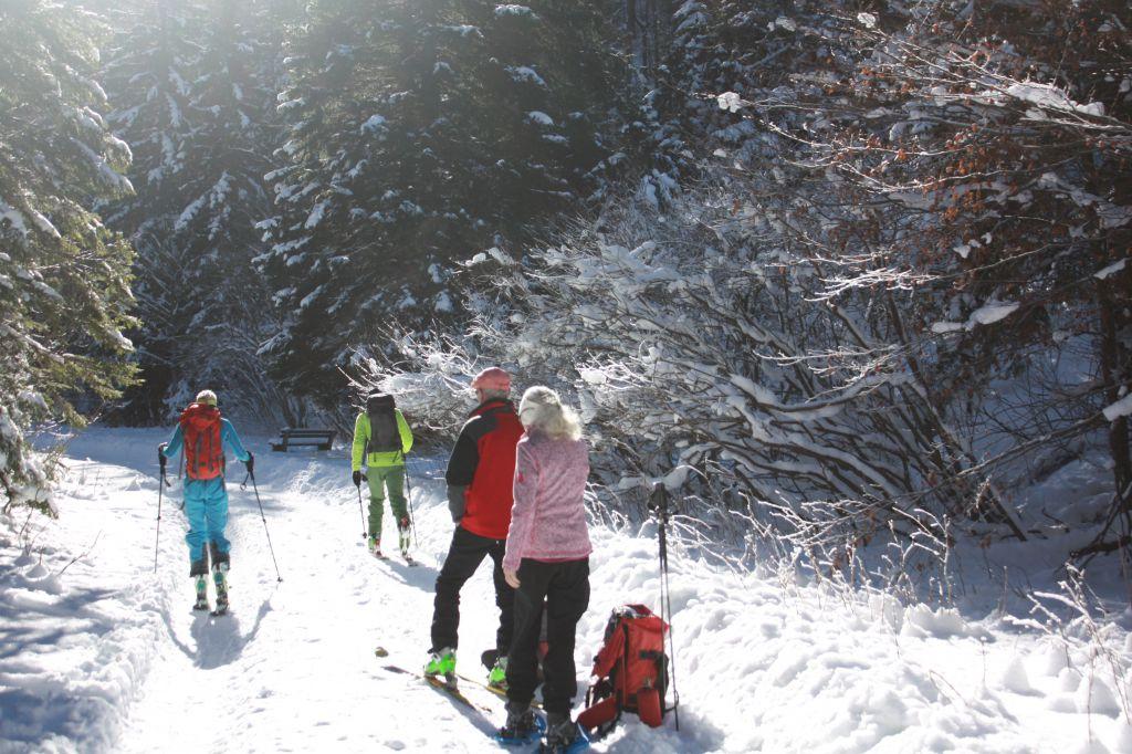 Auf dem Weg zur Klagenfurter Hütte, © Österreichs Wanderdörfer, Corinna Widi