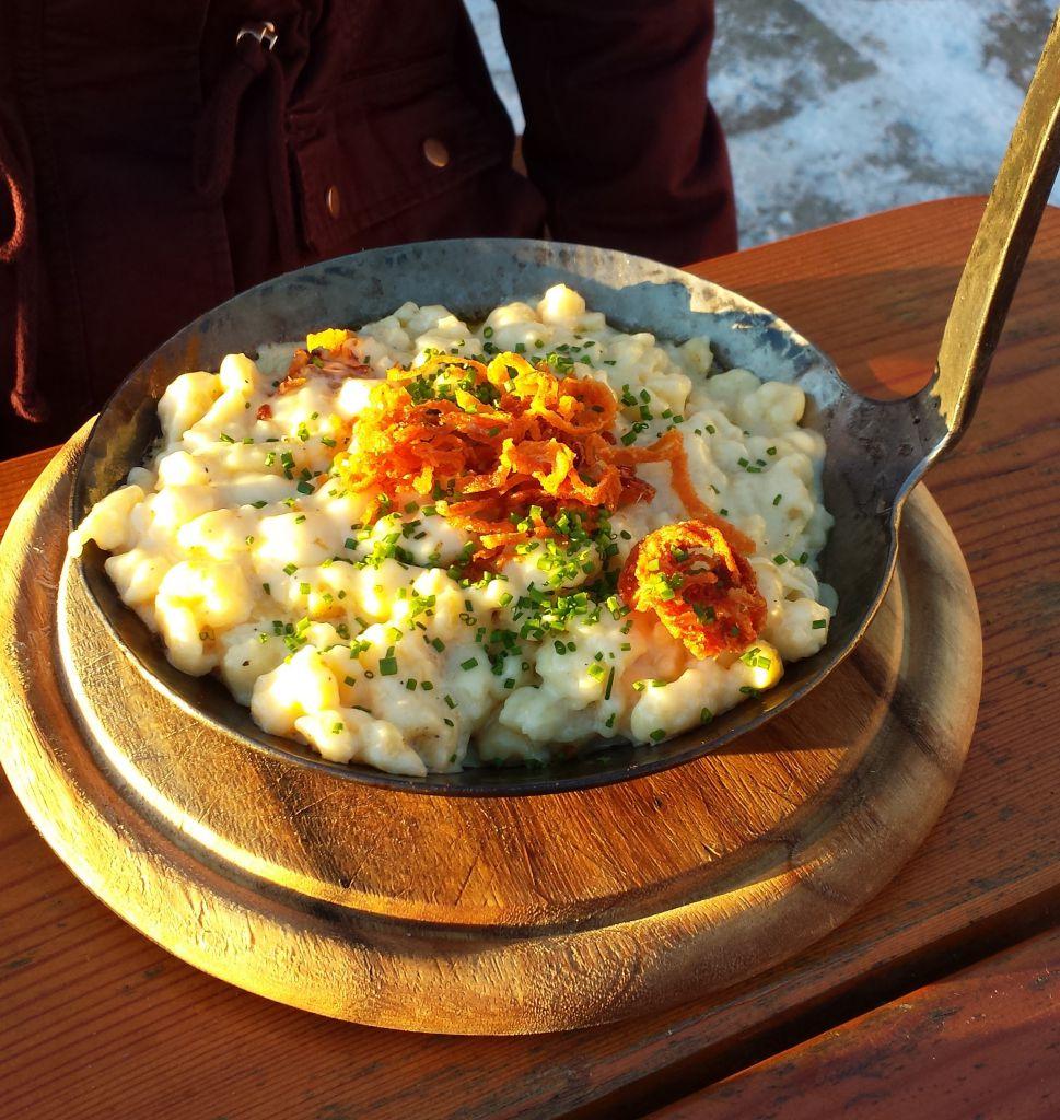 Käsespätzle, © Österreichs Wanderdörfer, Elisabeth Pfeifhofer_zugeschnitten