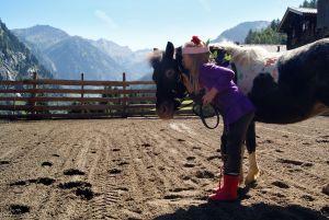 Kinderreiten, Feriendorf Rindereben