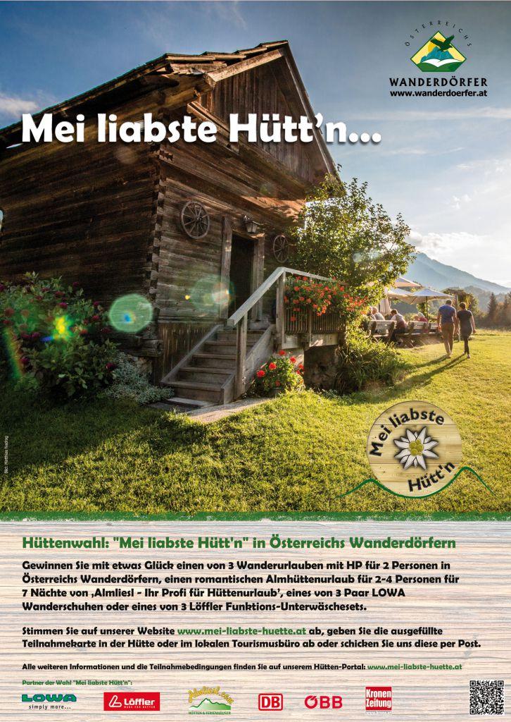 Plakat Hüttenwahl 2017