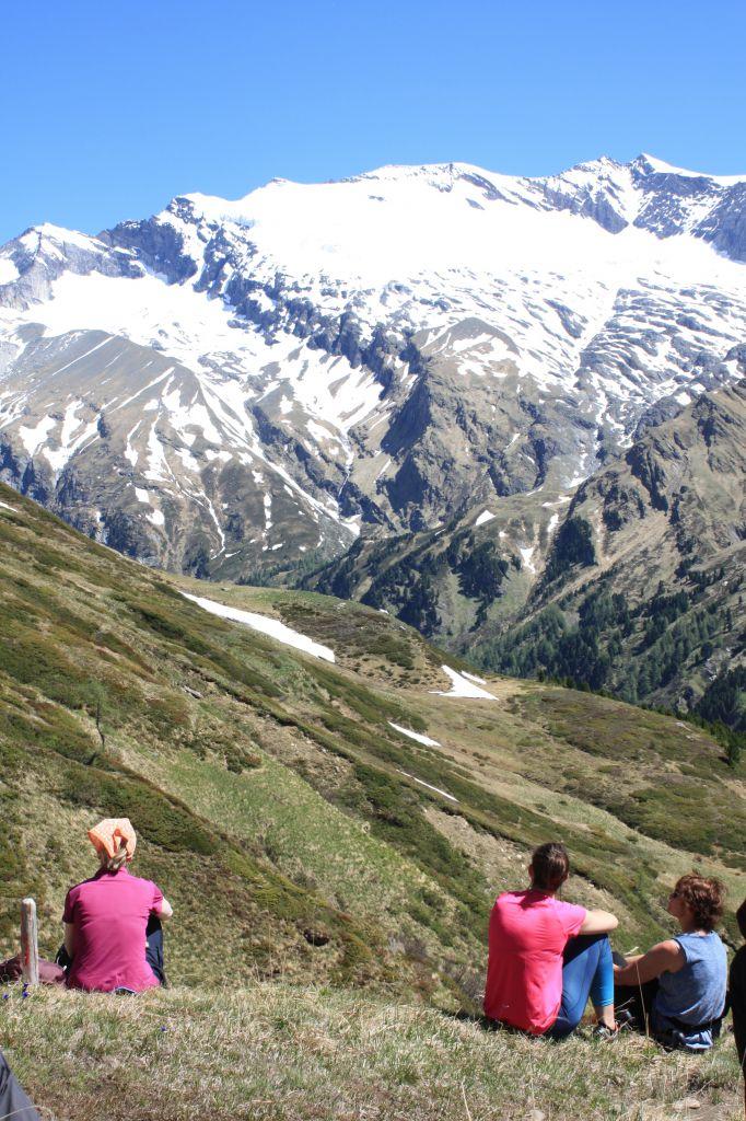 Ausblick zur Glocknergruppe, © Österreichs Wanderdörfer, Corinna Widi