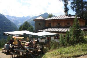 Sonnenterasse Stabanthütte, © Österreichs Wanderdörfer, Corinna Widi