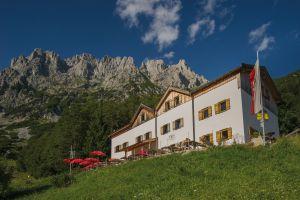 Gaudeamushütte, © Wilder Kaiser, Roland Schonner