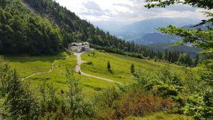 Ausblick auf Gaudeamushütte, © Elisabeth Pfeifhofer