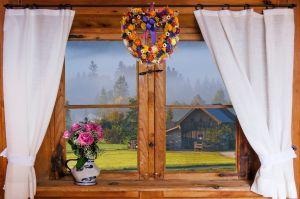 Almhütte Fenster, pixabay