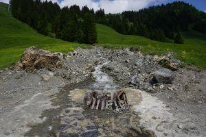 Wasser bei der Wanderung zur Grundalm, © Österreichs Wanderdörfer
