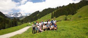Gruppenfoto Wanderung Grundalm, © Thomas Wirnsperger