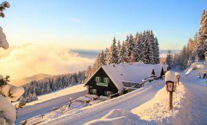 Tonnerhütte im Winter