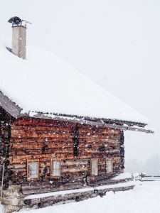 Winterhütte, Unsplash