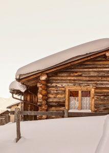 Winterhütte, Winterlandschaft, Pixabay
